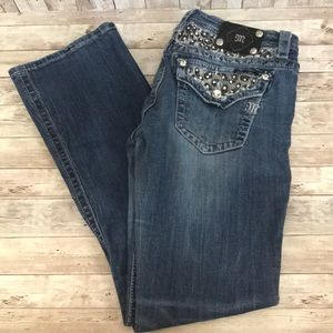 Miss me signature rise boot cut jeans